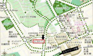 横浜市青葉区 たまプラーザ 3丁目カフェ アクセス