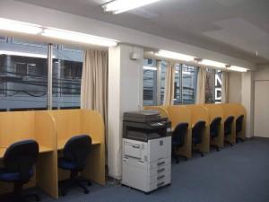 横浜駅 レンタルオフィス フリースペース